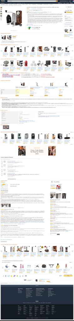 Продающий текст для Amazon o manual coffee grinder